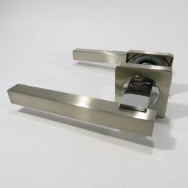 Ручка дверная Кедр R08.103 Сатин/хром