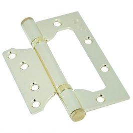 Петля дверная бабочка KEDR 100/63/2.0mm -G Золото