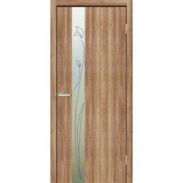Двери межкомнатные Омис Зеркало 3 КР дуб золотой