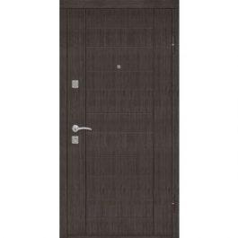 Двери металлические «Riccardi» Домино венге